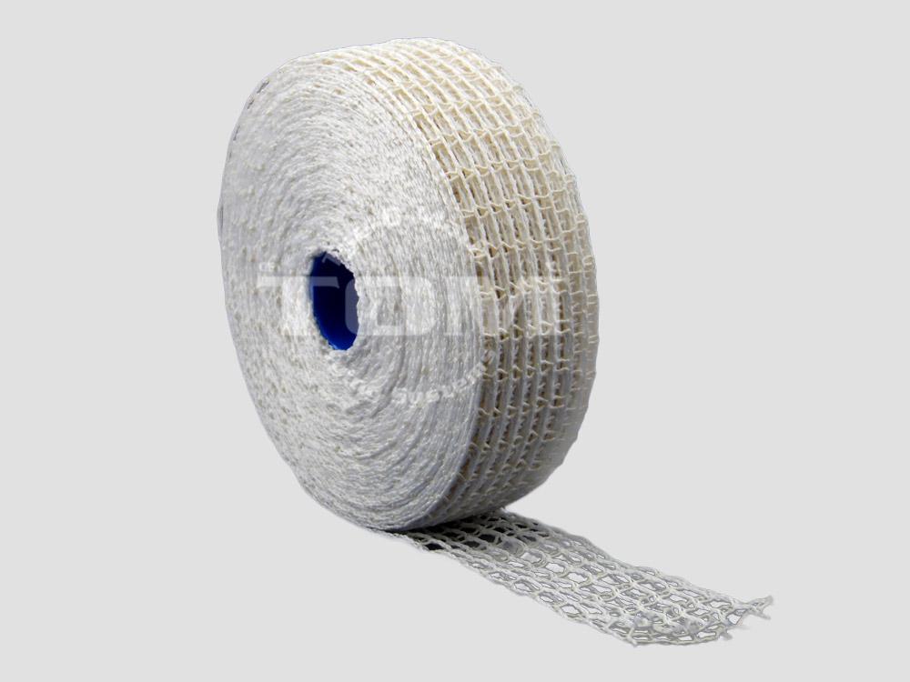 grof rolladenet grote mazen wit 100/110 mm/
