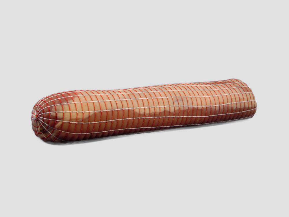 standaard rolladenet rood/wit, vleesnet rood/wit braadnet/