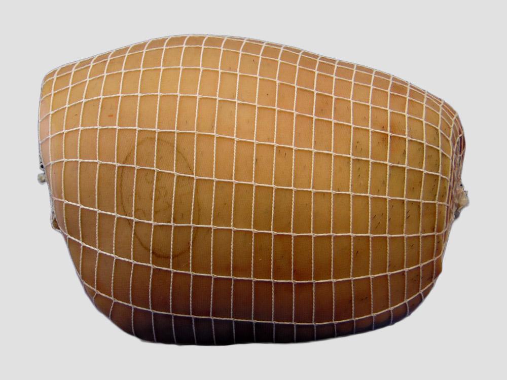 standaard rolladenet / vleesnet wit , braadnet wit 130/160mm/