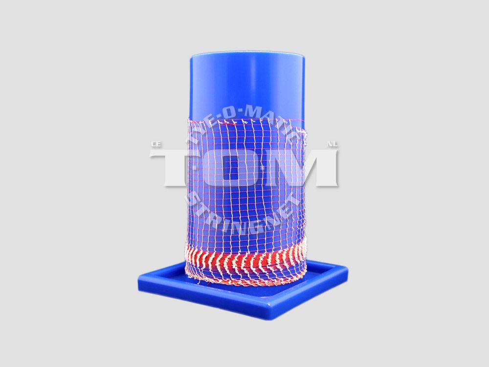 Plastic tube for net loading 220 mm