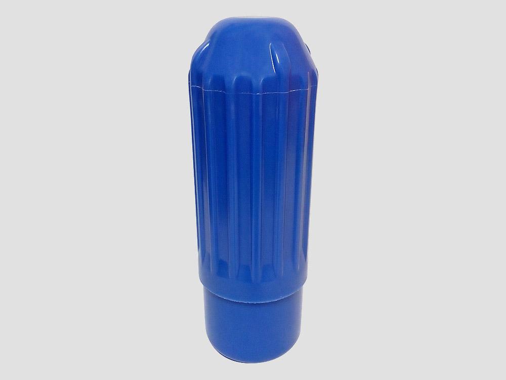 Plastikowa głowica 110 mm do zakładania siatki na rurę