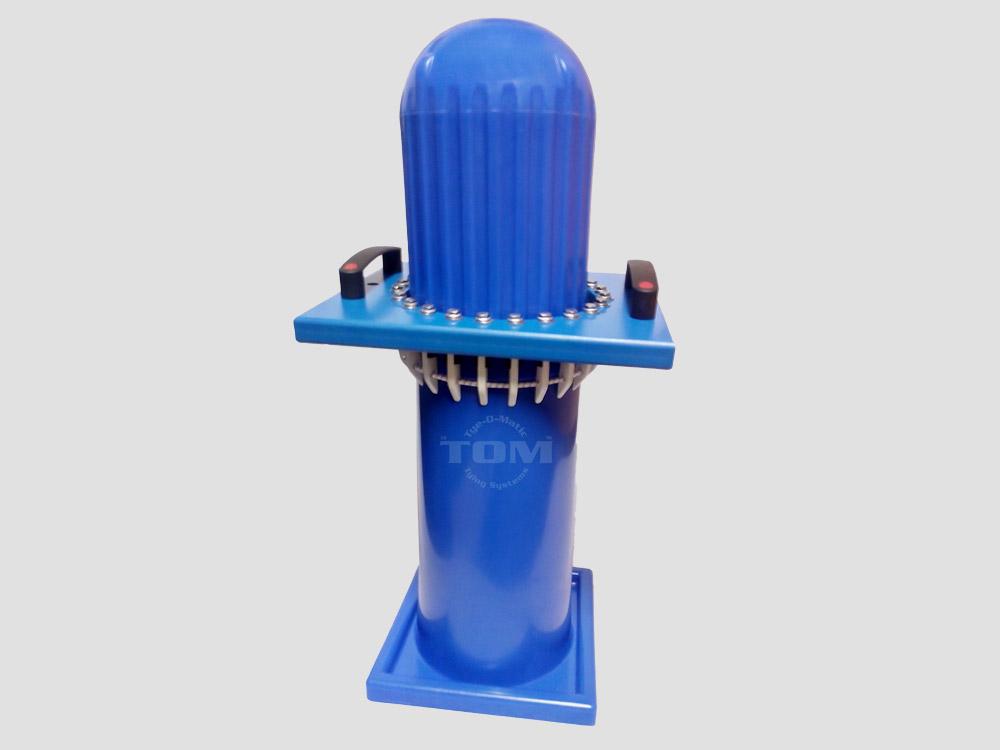 Conjunto completo tubo + cabeza + agarrador diámetro 220 mm precio referido al conjunto