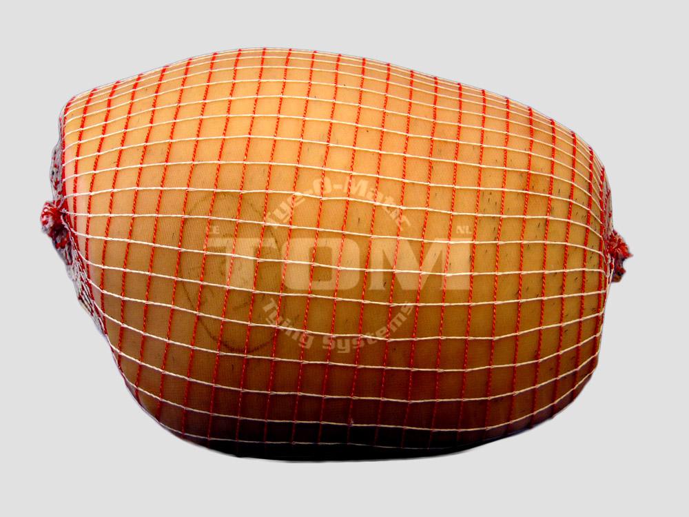 standaard braadnet rood/wit, kooknet rood/wit 130/160mm/