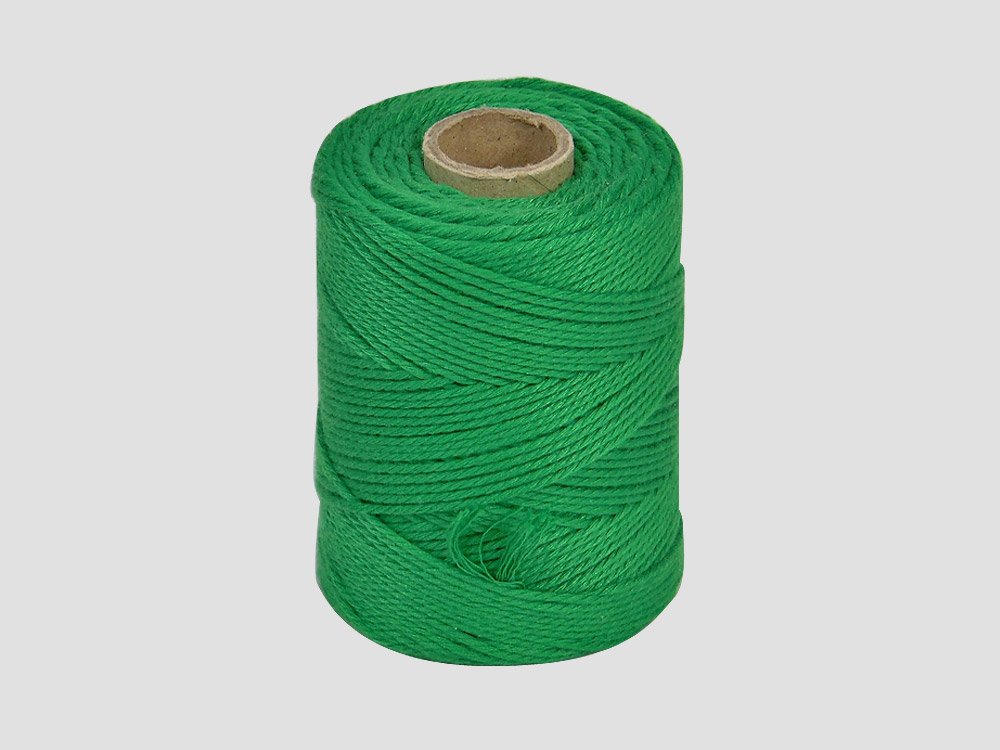 Cotton butcher twine Green 250 gr