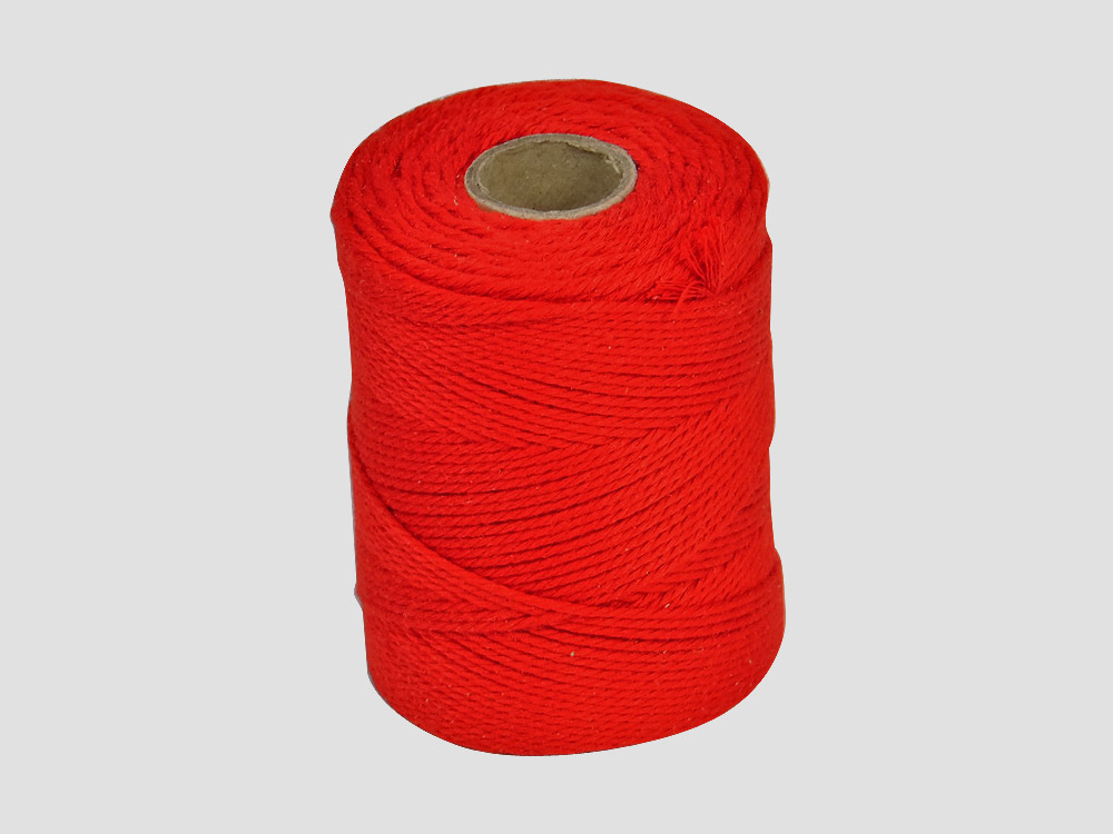 Cotton Butcher twine/string, Butchers String Red 250 gr